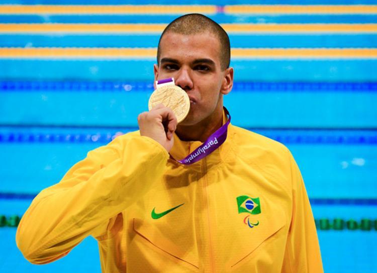 André Brasil ficou inelegível e não pôde participar da competição deste ano - Foto: Divulgação