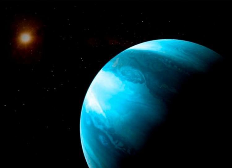 Planeta e sua estrela estão a cerca de 30 anos-luz da Terra - Foto: Divulgação   University of Bern