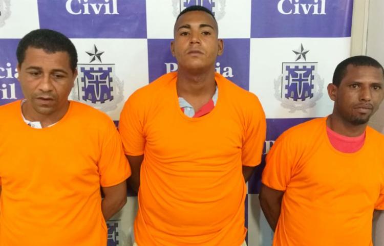 Homens são apontados pela polícia de realizar diversos assaltos em Salvador - Foto: Divulgação   Polícia Civil