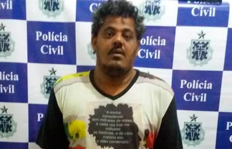 Edvaldo está custodiado na Delegacia Territorial (DT/Sobradinho) - Foto: Divulgação | Polícia Civil