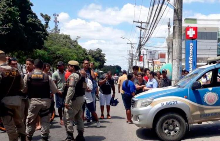 Ainda não há informações sobre o autor ou motivação do crime - Foto: Aldo Matos | Acorda Cidade