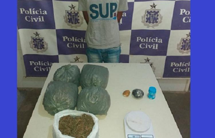 Suspeito já responde por porte ilegal de armas - Foto: Reprodução   Liberdade News