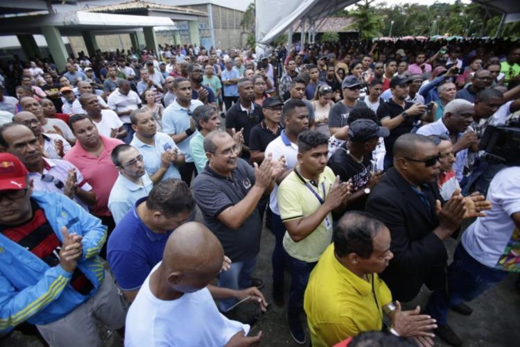 O encontro aconteceu no Clube Adelba, no bairro de Patamares, em Salvador - Foto: Raphael Muller | Ag. A TARDE