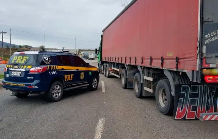 Condutor foi encaminhado para a delegacia de Jequié - Foto: Divulgação | PRF