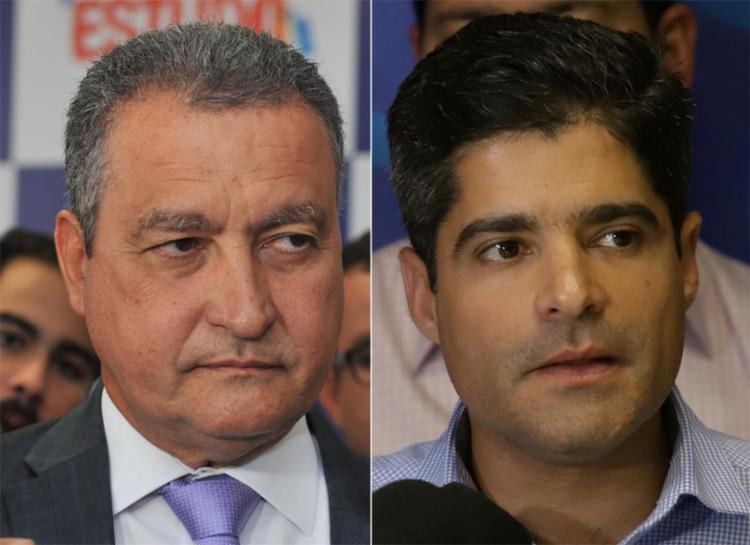 O governador preferiu não entrar em polêmica com o prefeito - Foto: Felipe Iruatã l Ag. A TARDE e Uendel Galter l Ag. A TARDE