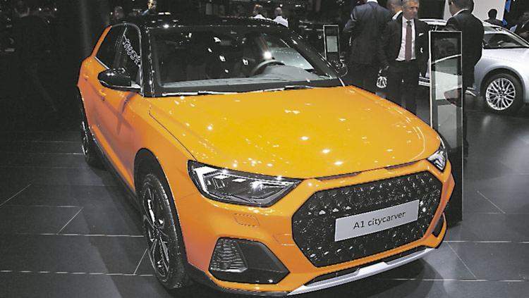 Audi A1 Citycarver tem chances de vir - Foto: Divulgação