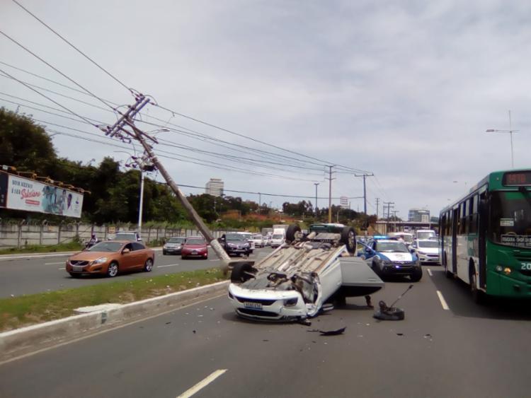 Caso ocorreu na manhã desta segunda-feira - Foto: Joá Souza | Ag. A TARDE