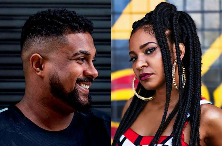 Enquanto Baco Exu do Blues se apresenta no Porto, Larissa realiza show no Rio Vermelho - Foto: Divulgação e David Campbel