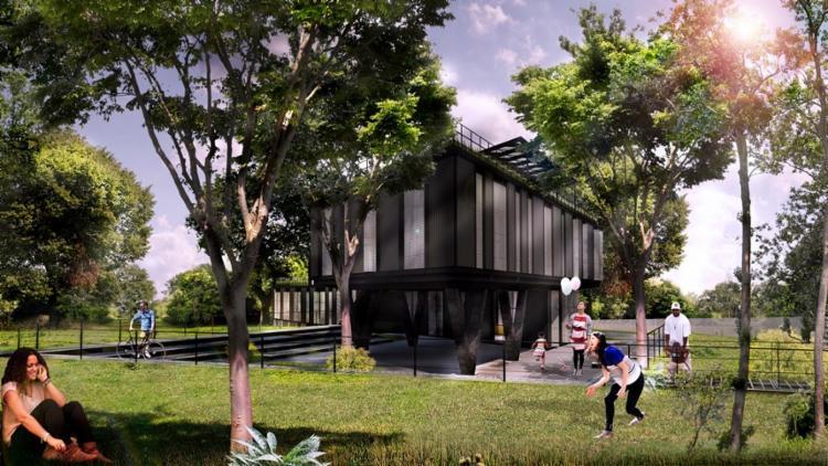 No local será construído um auditório que comportará 50 pessoas - Foto: Divulgação | Secom
