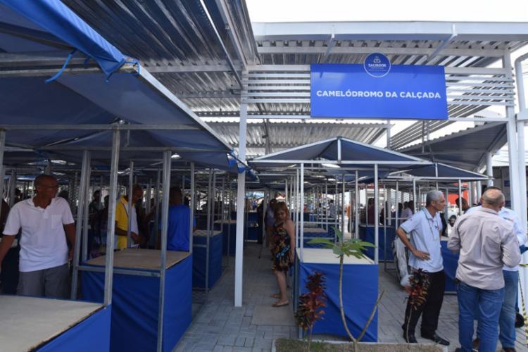 Novo camelódromo tem capacidade para abrigar 75 barracas