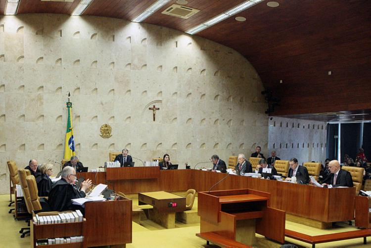 Ministros podem exercer o cargo até 75 anos, quando têm aposentadoria compulsória - Foto: Carlos Moura| SCO | STF