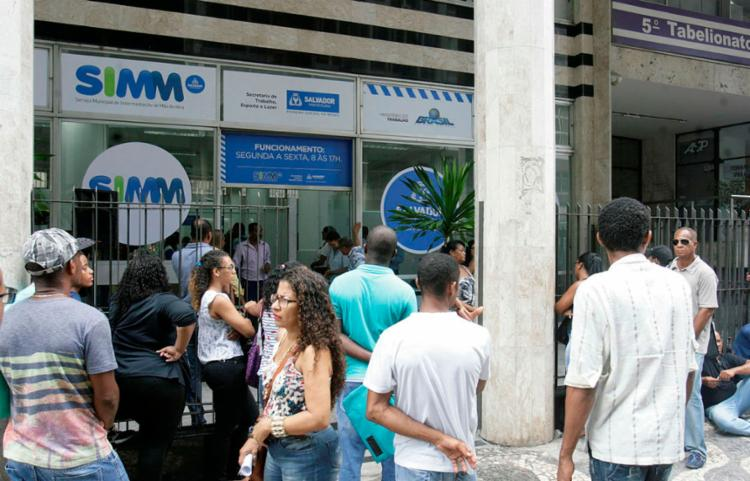 Interessados deverão se dirigir até a sede do SIMM, no Comércio - Foto: Luciano da Matta | Ag. A Tarde