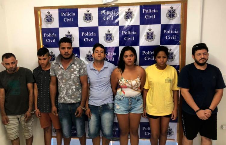 Suspeitos estavam sendo investigados há cerca de quatro meses - Foto: Divulgação | SSP