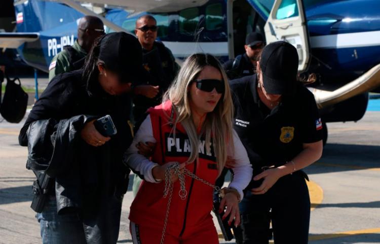 Dona Maria ocupa a carta 'Dama de Copas', do baralho do crime da SSP - Foto: Divulgação | SSP