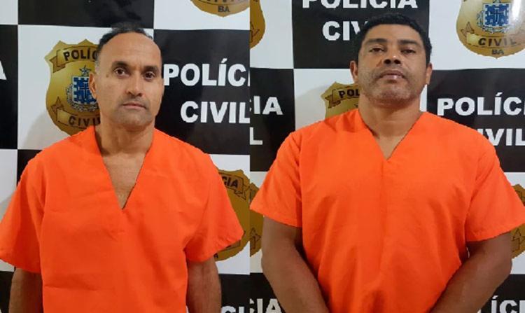 Os suspeitos foram conduzidos à sede da 23ª Coorpin/Eunápolis e aguardam transferência para o sistema prisional - Foto: Divulgação | Polícia Civil
