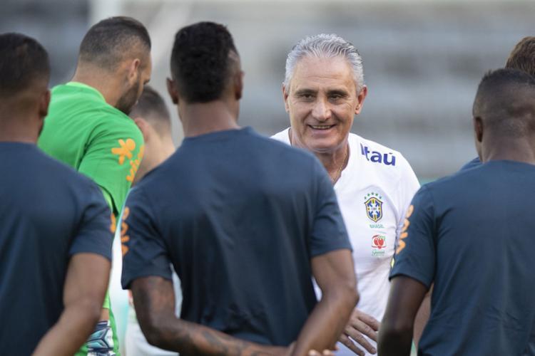 O técnico elogiou muito a evolução do adversário e o trabalho de Ricardo Gareca no comando da equipe peruana - Foto: Lucas Figueiredo l CBF