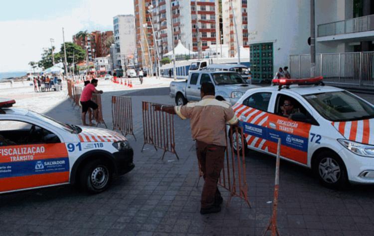 O estacionamento será proibido em alguns locais da cidade - Foto: Divulgação