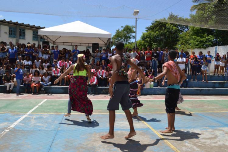 Os estudantes protagonizaram apresentações artísticas e culturais nas mais distintas linguagens, como a música, a dança e o teatro. - Foto: Josenildo Almeida_Divulgação