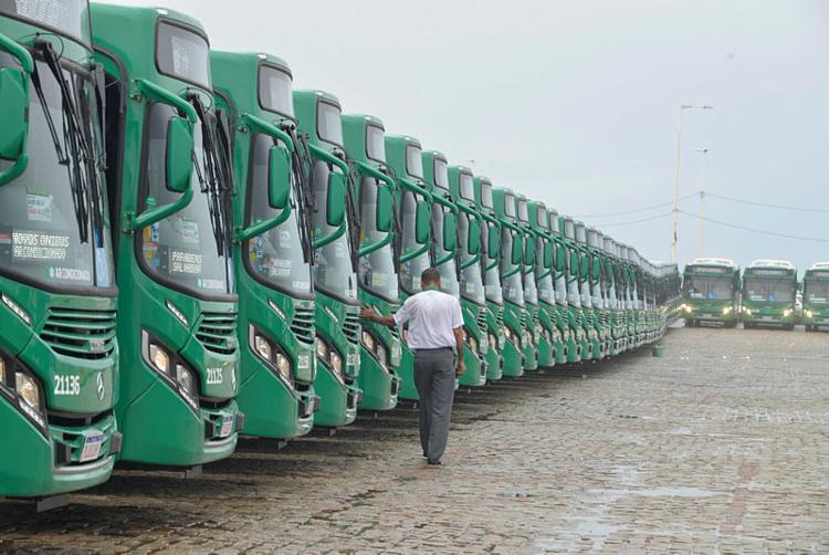 Ônibus com ar-condicionado já circulam em algumas linhas de Salvador desde agosto - Foto: Shirley Stolze | Ag A Tarde