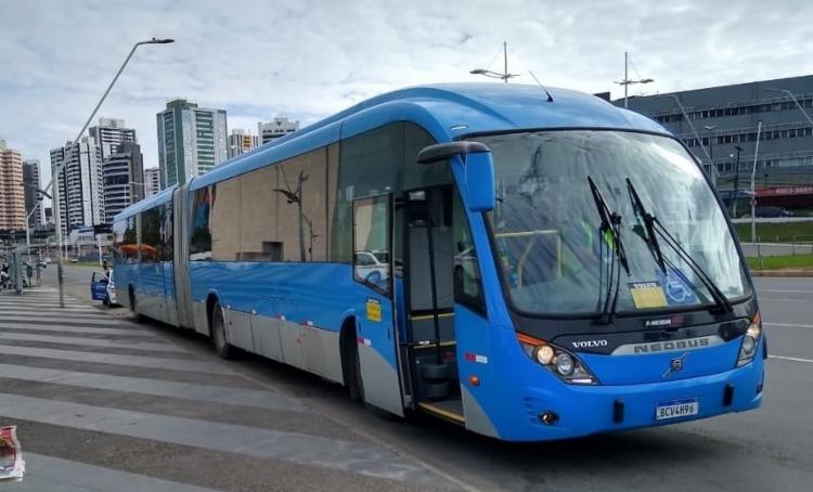 O ônibus articulado do BRT será testado na capital baiana