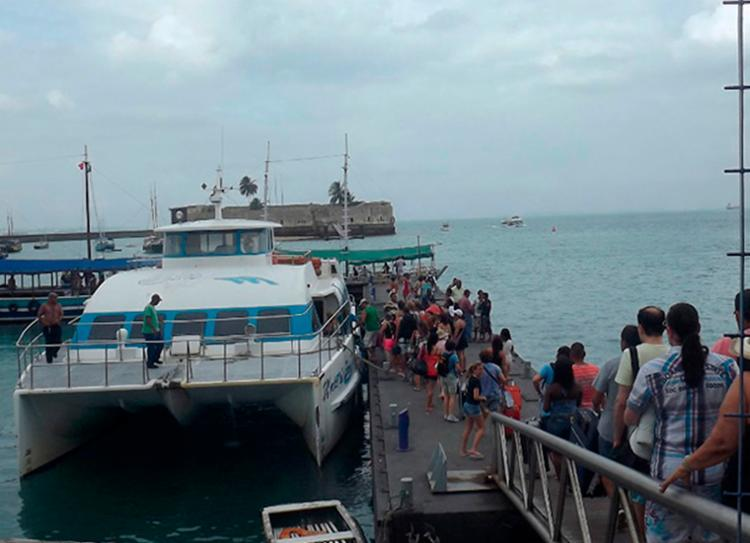 Segundo a Astramab, as condições de navegação são desfavoráveis entre a capital e a Ilha de Tinharé - Foto: Divulgação   Astramab