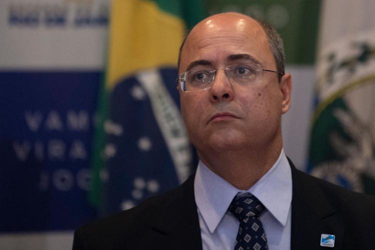 Witzel criticou ainda a oposição por usar a tragédia como palanque político - Foto: Mauro Pimentel   AFP