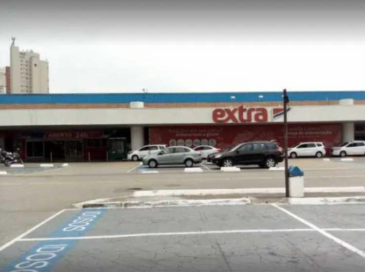 Caso aconteceu no supermercado Extra do Morumbi - Foto: Reprodução | Google Street View
