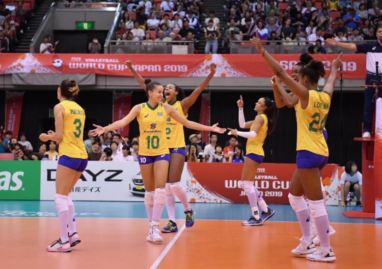 Brasil fechou sua participação no torneio com sete vitórias e quatro derrotas - Foto: Divulgação | FIVB