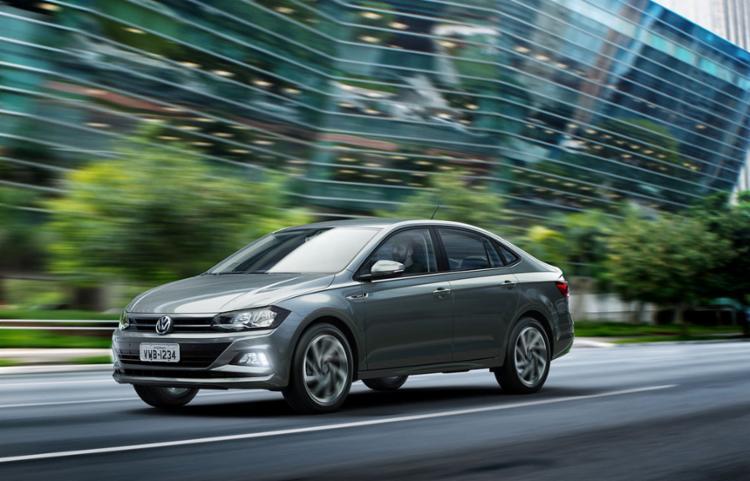 Volkswagen Virtus é o carro mais requisitado, diz a Unidas - Foto: Divulgação