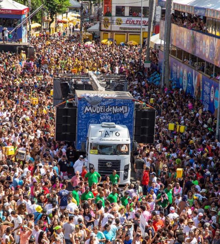 Ricardo Chaves, Ramon Cruz, Magary Lord, Jonga Cunha e Andrezão Simões animam a festa - Foto: Divulgação