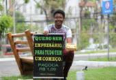Conheça o adolescente que vende paçoca para realizar sonho de ser empresário | Foto: Joá Souza | Ag A TARDE