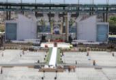 Público começa a chegar na Arena Fonte Nova para celebração | Foto: Susana Rebouças | Ag. A TARDE