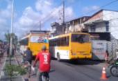 Mulher morre atropelada por ônibus na Av. Suburbana | Foto: Cidadão Repórter