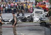 Três pessoas morreram em queda de avião em Belo Horizonte | Foto: Alex de Jesus | O TEMPO | ESTADÃO CONTEÚDO