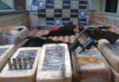 Mais de 80kg de pasta base de cocaína com imagem de El Chapo são apreendidos | Foto: Divulgação | SSP-BA