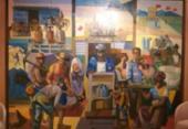 Obra de Jenner Augusto da Silveira é restaurada e exposta na Casa Cor Bahia | Foto: Valter Andrade