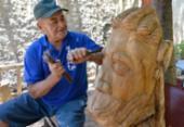 Artistas mantêm a tradição das carrancas no rio São Francisco | Foto: Shirley Stolze / Ag. A Tarde