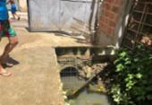 Cidadão Repórter: Moradores de Mussurunga reclamam de córrego poluído | Foto: Reprodução | Arquivo Pessoal