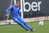 Roger poupa titulares e trabalha com reservas no CT do Inter | Foto: Felipe Oliveira | EC Bahia
