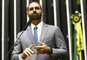 Site da Câmara confirma Eduardo Bolsonaro como novo líder do PSL na Casa | Foto: Marcelo Camargo | Agência Brasil