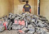 Cerca de uma tonelada de cocaína é apreendida em Feira de Santana | Foto: Divulgação | PRF