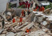 Sobe para 4 o número de mortos no desabamento do Edifício Andréa, em Fortaleza | Foto: Rodrigo Patrocínio | AFP