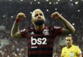 Gabriel brilha, Flamengo faz 5 a 0 no Grêmio e vai à final da Libertadores | Foto: Mauro Pimentel | AFP