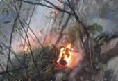 Bombeiros seguem em contenção de incêndios na Chapada Diamantina | Foto: Divulgação | CBMBA