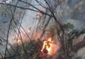 Incêndio de grandes proporções atinge Chapada da Diamantina, na Bahia | Foto: Divulgação | Corpo de Bombeiros da Bahia