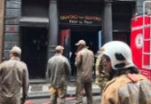 Bombeiros voltam a prédio de boate no Rio por provável novo foco de incêndio | Foto: Reprodução