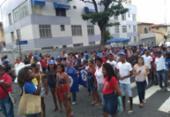 Em protesto, grupo de pescadores ocupa sede do Ibama em Salvador | Foto: Bruno Brito | Ag. A TARDE