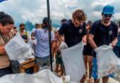 Marca de cerveja vai parar equipe por um dia para limpar praias atingidas por óleo | Foto: Raul Aragão | Divulgação