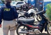 Idoso é detido com ciclomotor roubado em Simões Filho | Foto: Divulgação | PRF
