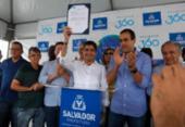 ACM Neto assina ordem de serviço para reforma do Casarão dos Azulejos Azuis | Foto: Felipe Iruatã | Ag. A TARDE